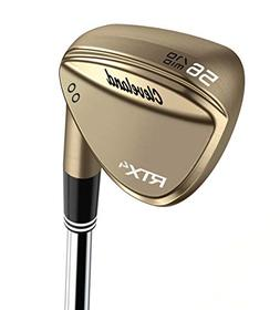 Cleveland Golf Men's RTX 4 Wedge Raw Finish 64 Low Raw Finis