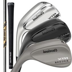 Cleveland RTX Zipcore Wedge - Choose Your Color, Loft, and B