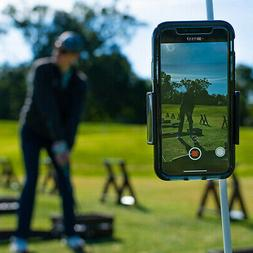 Selfie Golf Record Phone Holder Training Aids Assistant Club