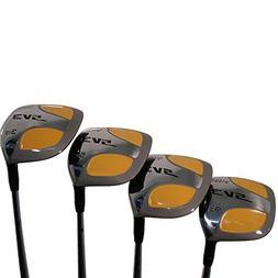 Senior Men's SV3 Yellow Square Fairway 3 5 7 9 Wood Set Golf