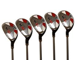 Majek Senior Men's Golf All Hybrid Partial Set, which Incl