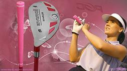 Senior Ladies iDrive Pink Golf Club #3 Hybrid 55+ Years Wome