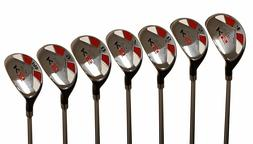 "Men's Majek Golf All Hybrid Full Set  Senior ""A"" Flex Util"
