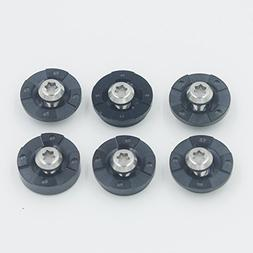 6pcs/set Golf Club Replacement Aftermarket Choose Weights Pi