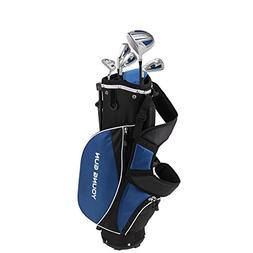 Young Gun ZAAP ACE Blue Junior Golf Club Youth Set & Bag for