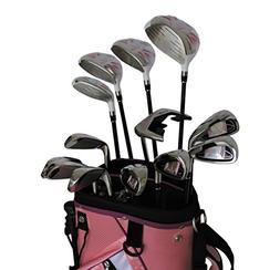 Sephlin Signature Women's Pink Right Hand 13 Pcs Golf Clubs