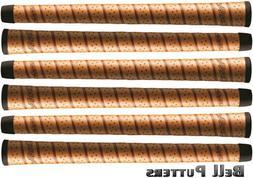 Six  Winn Dri-Tac Wrap Standard Copper Golf Grip-Mens/Men's-