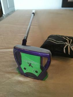 TaylorMade SPIDER X GREEN/PURPLE KBS CT Tour Super Stroke 35