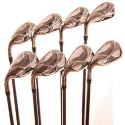 Nike SQ Machspeed Iron Set 3-PW,AW No 6-Iron Stiff Flex Grap