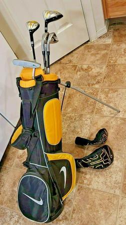 Nike SQ MachSpeed Jr. Golf Set - 9, 7, 1, 4, Putter RH