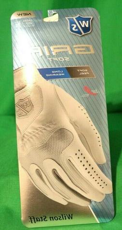 Wilson Women's Staff Grip Soft Golf Glove, Large