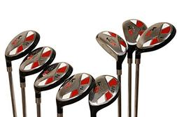 "Tall Senior Golf Hybrids Big +1"" Longer Than Standard Length"