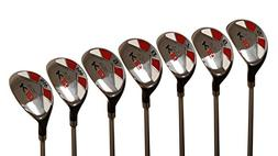 "Tall Senior Golf Hybrids Big +1"" Longer Than Standard Length"