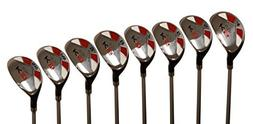 Majek Senior Men's Golf All Hybrid Complete Full Set, whic