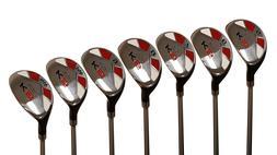 "Senior Ladies Majek Golf All Hybrid Full Set  Lady ""L"" Flex"