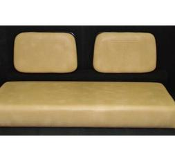 Tan Club Car Seat Covers For 1982-1999 Golf Carts Staple On