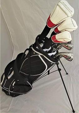 TaylorMade Mens Golf Set Driver, Fairway Wood, Hybrid, Irons