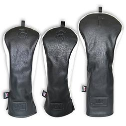 Craftsman Golf Three pieces 3D Design 1 3 5 Leather Style Dr