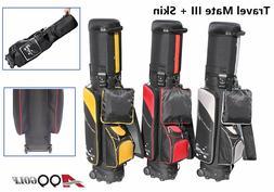 A99Golf Travel Mate w.SKIN CarryOn Cover Case cart bag Wheel
