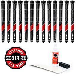 Lamkin Ts1 Standard Golf Grip Kit With Tape Solvent Vise Cla