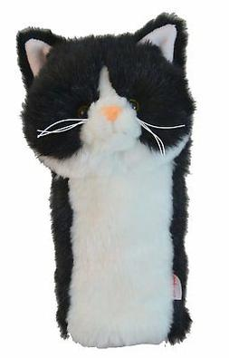 Daphne's Headcovers Tuxedo Cat Golf Club Head Cover for Hybr