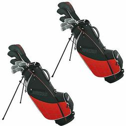 Wilson Ultra Mens 13 Piece, Left Hand Golf Club Set w/ Bag,