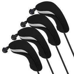 USA 4Pcs/set Light Neoprene Black Blue Hybrid UT Golf Club H