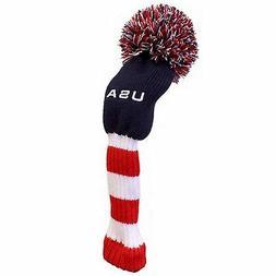 USA Super Pom Pom Golf Club Head Cover