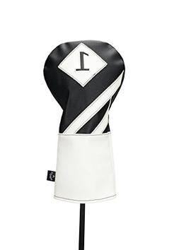 Callaway Vintage Driver Headcover Black White NEW Golf Acces