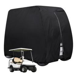 Waterproof 4 Passenger Golf Cart Cover Fits EZ Go/Club Car/Y
