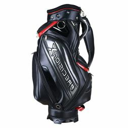 Waterproof Golf Carry Bag 18x10x51' w/ 9 Pockets for Male Ad