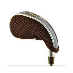 WeatherWick Golf Club Iron Head Covers - SILVER - Universal