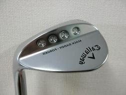Callaway Wedge Open Box MACK DADDY FORGED Chrome-plated 54 d