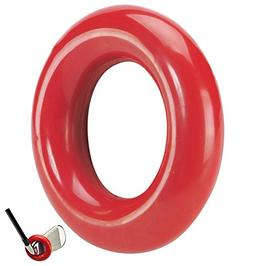 JP Lann Golf Weighted Swing Ring for Practice/Training, Red