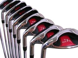 Extreme X5 Wide Sole iBRID Iron Set Senior Men's Complete 8-