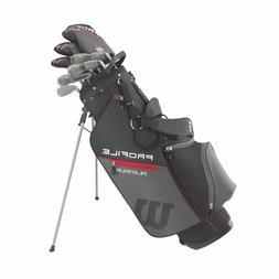 Wilson Golf Men's Profile Platinum Package set Right Hand Ta
