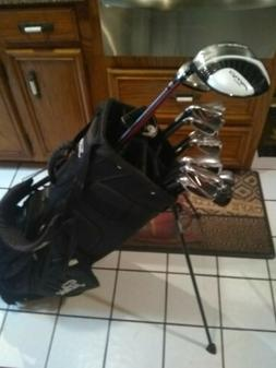 Wilson golf ultra complete set of golf clubs and bag and put