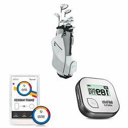 Wilson Women's Golf Clubs + Golf Buddy GPS Range Finder + Go