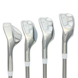"""Women's Powerbilt Golf EX-550 Hybrid Iron Set  Lady """"L"""" Flex"""