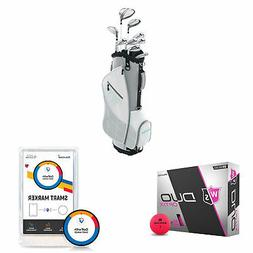 Wilson Women's Right-Handed Golf Clubs + Golf Balls + Golf S