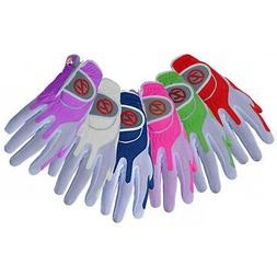 Zero Friction Womens Compression Golf Glove / Left Hand / Fr