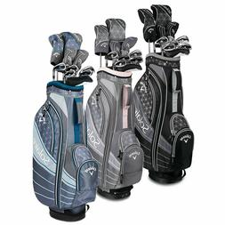 Callaway Womens Solaire Ladies Complete Golf Club set 11 pie