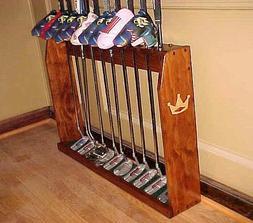 Wood Floor Display Rack for 10 Scotty Cameron Putters Golf C