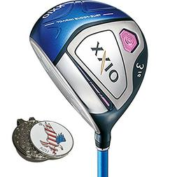 XXIO X Ladies Fairway Wood, Right Hand, 7 Wood, Ladies + 1 C