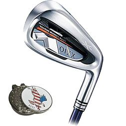 XXIO X Iron Set, Left Hand, Steel, 5-SW, Stiff/Regular + 1 C