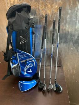 Callaway XJ Junior Blue  5 Piece Complete Golf Set RH 643196