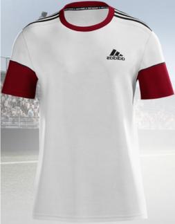 Adidas Youth mi Squadra 17 Short Sleeve Soccer Jersey White