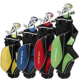 YOUNG GUN ZAAP ACE JUNIOR GOLF CLUB YOUTH SET & BAG FOR KIDS