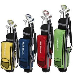 Young Gun ZAAP EAGLE Junior golf club Youth Set & bag for ki